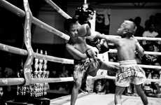 Young Intrepid Fighter Photos - The Portraits of 'Fighting Kids' Shows the Gritty Side of Muay Thai