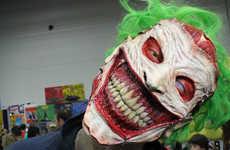 Surreal Super Villain Masks