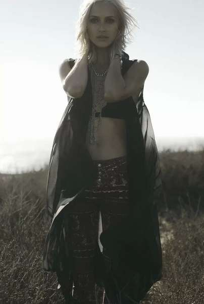 Bewitching Bohemian Adventure Editorials - Wasteland October 2013 Shows Off a Darker Bohemian Vibe