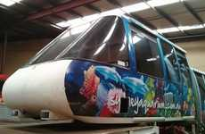 Repurposed Monorail Cars
