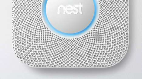 Hi-Tech Smoke Detectors - The Nest Protect Boasts a More Human Way to Interact with Devices