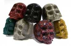 Fashionably Spooky Accessories - The SHANKA S.Kull Ring Collection Embraces a Scary Style Aesthetic