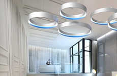 Halo-Like Hanging Lamps