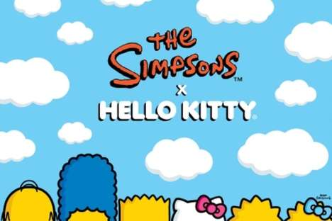 Hello Kitty x The Simpsons