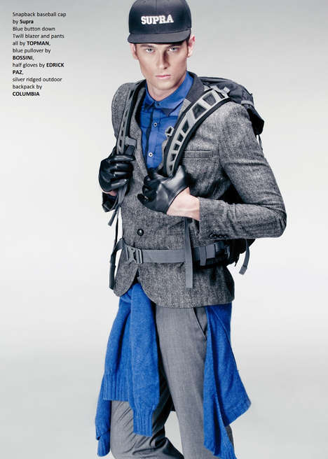 Haute Hiker Editorials - The High Altitude Fashion Story by Jerick Sanchez is Sporty-Chic
