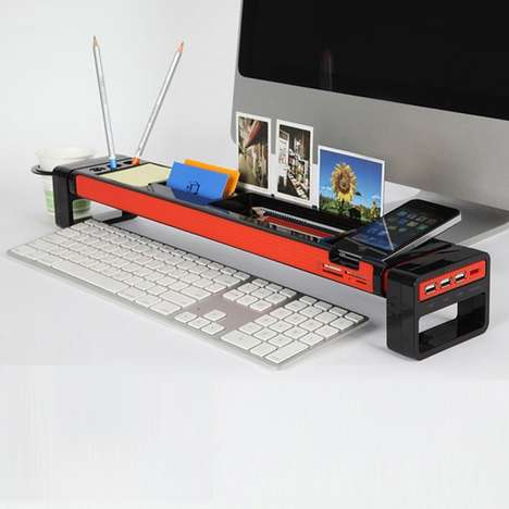 Multifunctional Desktop Organizers - The iStick is the Best and Easiest Way to Organize Your Desktop