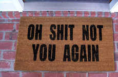 Rude Home Doormats