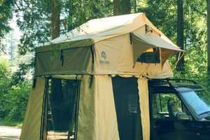 The Roof-Top Tent Can Fit on Any Vehicle Roof Type
