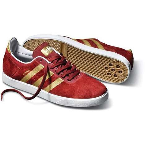 Classy Skater Kicks - The Adidas Busenitz ADV Skate Shoe Is Fancy and Skate-Ready