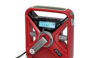 The Hand Crank Charger is a Radio, Emergency Distress Signal and Charger in One