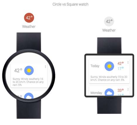 Smartphone-Inspired Watches - The Google Smartwatch is Rumored to Face-Off Samsung and Apple
