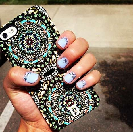 Jewel Kaleidoscope Smartphone Jackets - This Jewel iPhone Cases Look Fresh and Luxurious