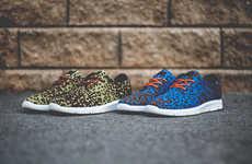 Leopard Camo Jogging Sneakers