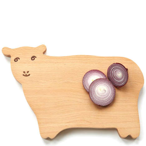 Animal-Inspired Kitchen Essentials - This Carmen the Sheep Chopping Board is Adorably Practical