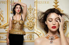 Bejeweled Italian Temptress Editorials