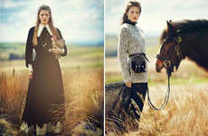 Pretty Prairie Girl Editorials