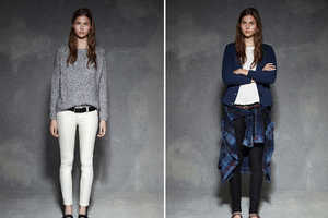 The Elizabeth and James Fall 2013 Line Features Flannel and Oversized Looks