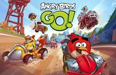 Popular Avian Game Updates - The Angry Birds Go Gaming App Puts the Birds on Wheels