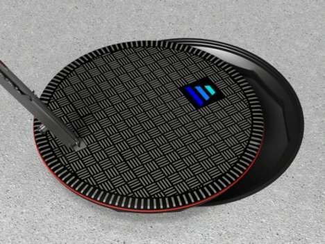 Car-Charging Manholes - Hevo Power Aims to Turn Sewer Lids into Wireless EV Chargers