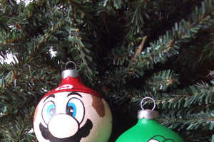 Super Mario Christmas Ornaments Let You Fly Your Geek Flag During the Holidays