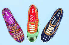 100 Examples of Boldly Patterned Footwear