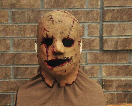 Horrifying Handmade Masks - This Costume Mask is Super Scary