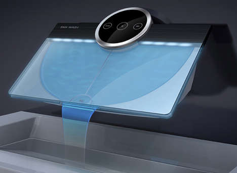 40 Luxe High-Tech Bathroom Accessories - From Bathroom Tissue Tablet Stands to Touchscreen Taps