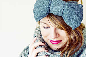 Turn an Old Pair of Leggings into a Chic Headpiece with This Tutorial