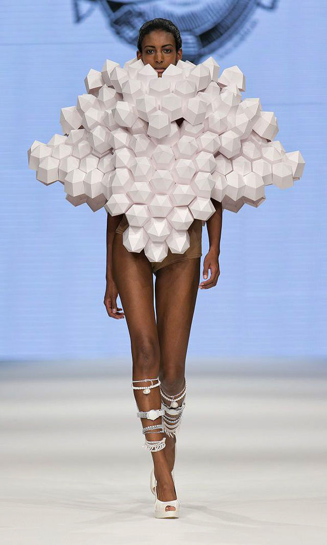 Abstract Paper Runway Collections