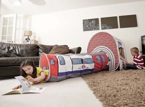 Pop-Up London Play Tents - Kids Will Have Wild Adventures Underground in This Play Tent