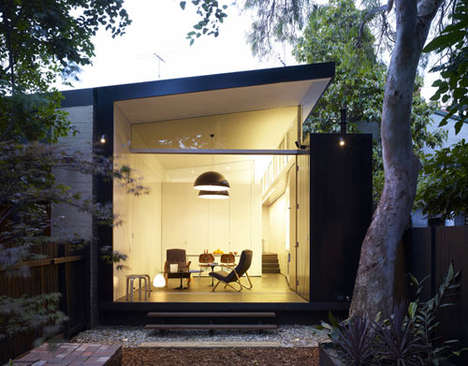 Nature Appreciation Abodes - The Haines House by Christopher Polly is Like Living Under the Stars