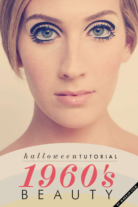 1960s hair and makeup tutorial