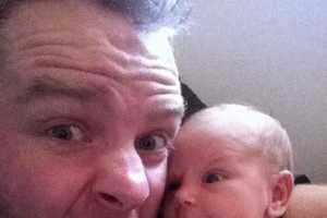 This Redditor Took a Bunch of Funny Family Portraits with his Baby