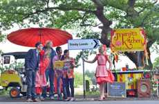 Tweet-Fueled Rickshaw Rides - Trinity Kitchen Launched Tweet to Pay Rickshaw to Its New Location