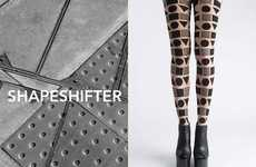 Architecture-Inspired Tights - Patternity's 'Streetshapes' Tights Are a Graphic Take on Urban Cities
