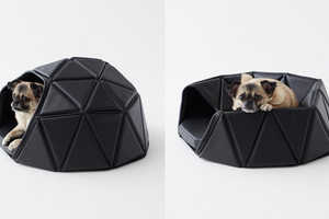 Nendo's Heads or Tails Dog Bed is Versatile in Its Design