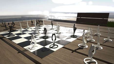 Pandov Chess Set