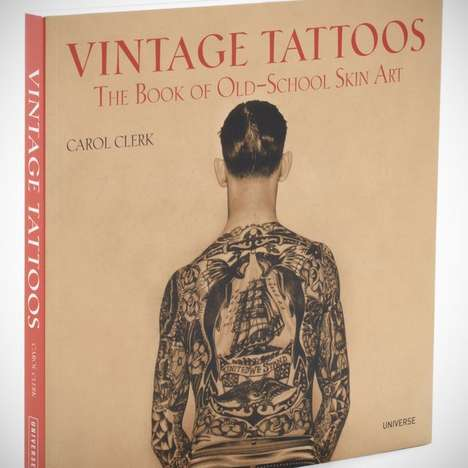 vintage tattoo book