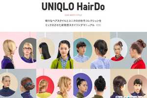 The 'UNIQLO HairDo' Pinterest DIYs Match Its Latest Fashions