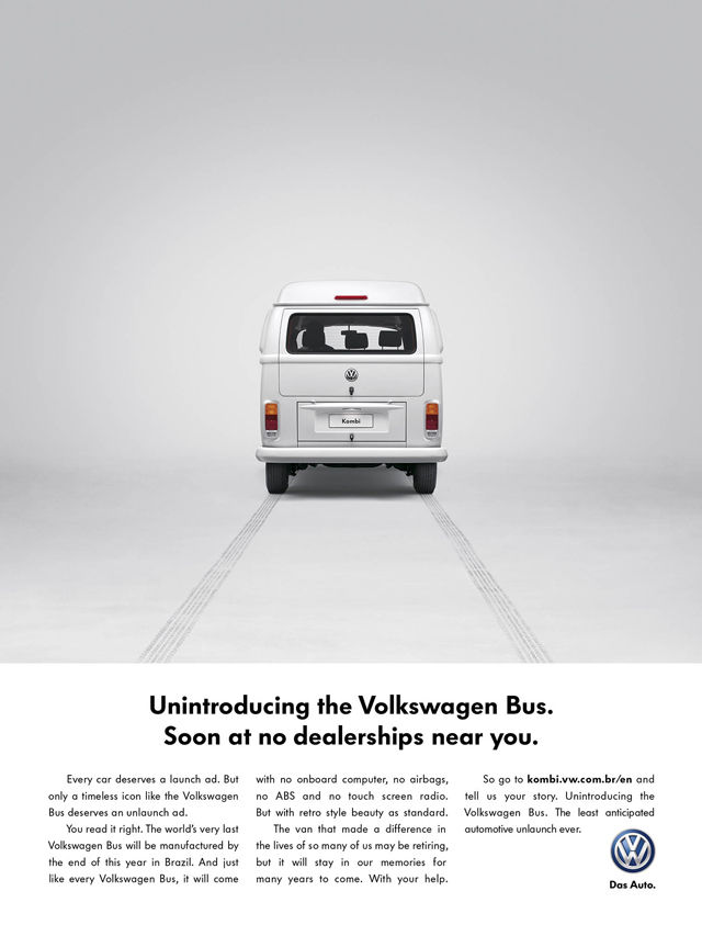 Iconic Vehicle Departure Ads