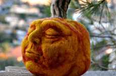 Fuzzy Facial Featured Pumpkins