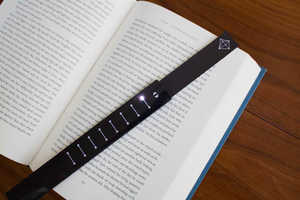 The eBookmark Uses Touchable Leds to Let You Know Where You Left Off