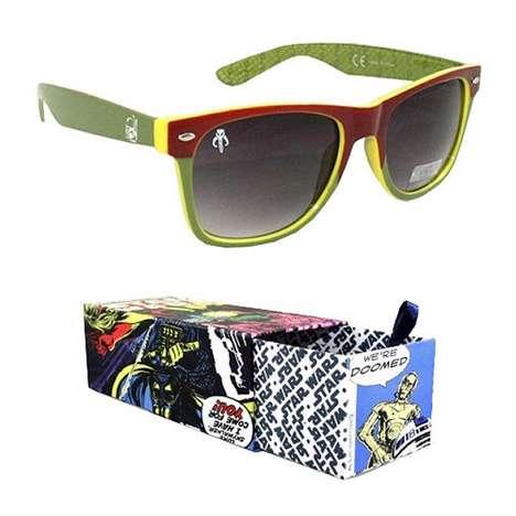 Sci-Fi Bounty Hunter Sunnies - The Boba Fett Sunglasses Shield Your Eyes from the Tatooine Sun