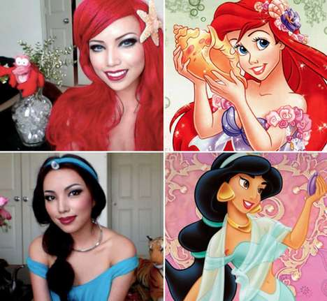 disney princess makeovers