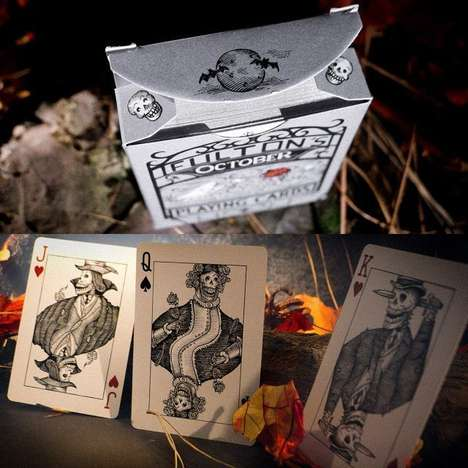 Wickedly Wayward Halloween Decks - The October Playing Cards Embody the Halloween Spirit