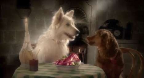 Bittersweet Canine Auto Ads - This Citroen Car Commercial Shows Two Dogs in Love