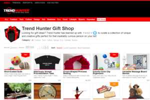 Shop 'Til You Drop at the Recently Launched Trend Hunter Gift Shop
