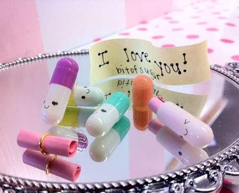 Cute Message Pills - Secret Saving Happy Pills Help You Pass Notes