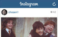 Aged Wizard Instagram Spoofs - This Funny Instagram Parody Shows Harry Potter as an Embarrassing Dad