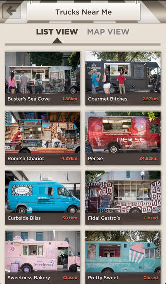 Food Truck Locating Apps